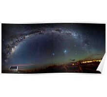 Night Sky Over Tekapo Poster