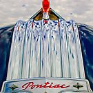 1950 Pontiac Chief Hood Ornament by Jill Reger