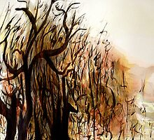 black tree wood.... vague dream by banrai