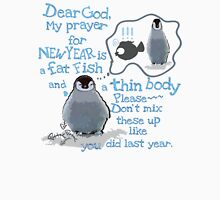Baby penguin's funny New Year's resolution Women's Relaxed Fit T-Shirt