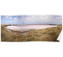 Pink Lake, Yorke Peninsula. Poster
