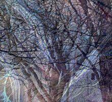 Ghosts Of Winter Flee Spring Sticker