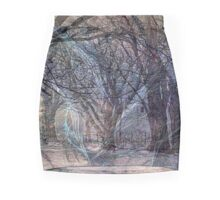 Ghosts Of Winter Flee Spring Mini Skirt
