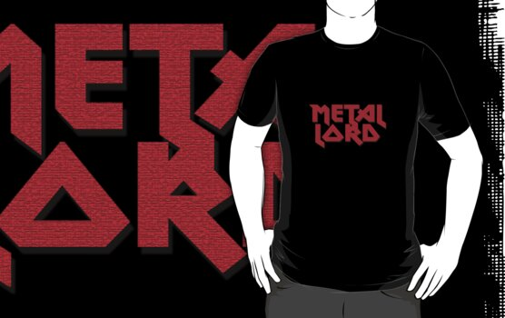 Heavy Metal Lord - Rock Music T-Shirt & Top by deanworld