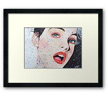 Diminishing Beauty Framed Print