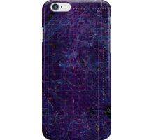 USGS Topo Map Oregon Crescent 283071 1979 100000 Inverted iPhone Case/Skin