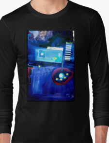Blue One For Europe Long Sleeve T-Shirt