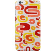 Orangensaft iPhone Case/Skin