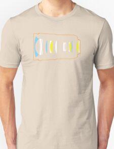 Photographer camera lens construction Unisex T-Shirt