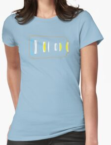Photographer camera lens construction Womens Fitted T-Shirt