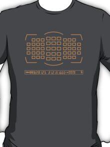 Photographer camera viewfinder T-Shirt