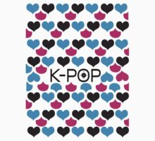 K-POP holic Kids Tee