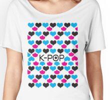 K-POP holic Women's Relaxed Fit T-Shirt