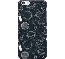 Space Doodles iPhone Case/Skin
