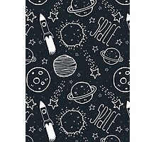 Space Doodles Photographic Print