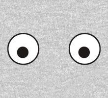 Comedy Joke Eyes Girls Boys T-Shirt One Piece - Long Sleeve