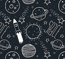 Space Doodles by Tracie Andrews