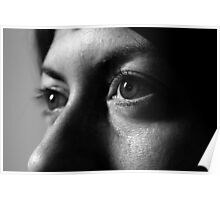 My Glance Turns to a Stare Poster