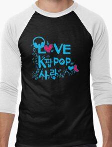 LOVE kpop SARNAG Men's Baseball ¾ T-Shirt