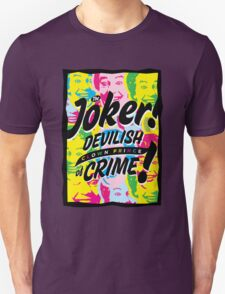 The Joker! Devilish Clown Prince of Crime! T-Shirt