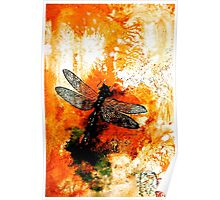 The Nature of Things...The Dragonfly Poster