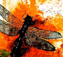 The Nature of Things...The Dragonfly Sticker