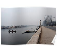 Morning At Dal Lake Poster