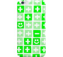Green apartments iPhone Case/Skin