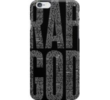 Eminem Rap God iPhone Case/Skin