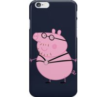 Daddy Pig iPhone Case/Skin