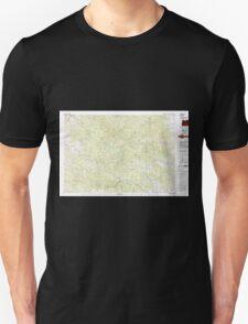 USGS Topo Map Oregon Bates 283051 1987 100000 T-Shirt