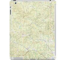 USGS Topo Map Oregon Bates 283051 1987 100000 iPad Case/Skin
