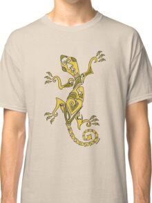 Lizard Tattoo Yellow Classic T-Shirt