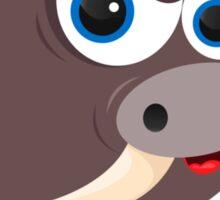 Cartoon Boar Sticker