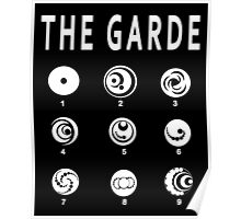 Lorien Legacies - All the Garde Poster