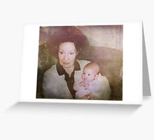 Gram and Baby Cass Greeting Card