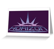 Horizon Greeting Card