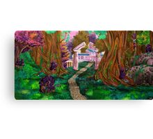Welcome in Darnassus Canvas Print