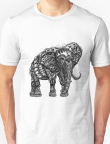 Mechanical Elephant steampunk animal vintage retro art T-Shirt