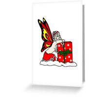Christmas Yule Faerie Greeting Card