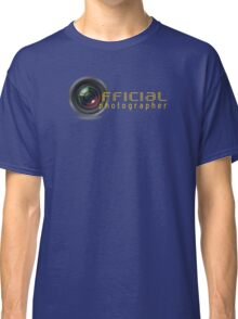 Official photographer Classic T-Shirt