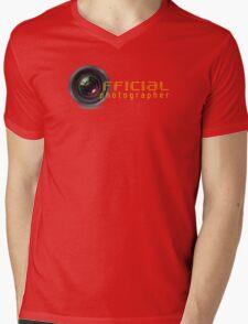 Official photographer Mens V-Neck T-Shirt
