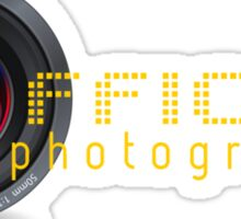 Official photographer Sticker