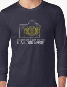 THE Camera Long Sleeve T-Shirt