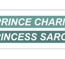 Faking It Inspired T-Shirt 'My Prince Charming Is Princess Sarcasm' Sticker