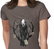 Slenderman III Womens Fitted T-Shirt