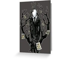 Slenderman III Greeting Card