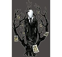 Slenderman III Photographic Print