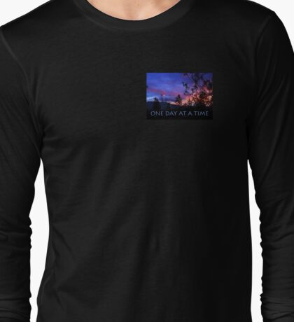 One Day at a Time Spring Sunrise Long Sleeve T-Shirt