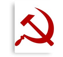 Hammer_and_sickle Canvas Print